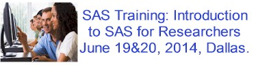 SAS Training in Dallas